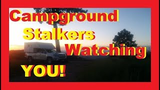 Download Campground Stalkers At The Grand Canyon RV Living Full Time / Van Life Nomad Video
