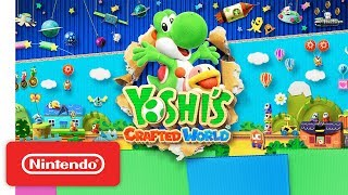 Download Yoshi's Crafted World - Story Trailer - Nintendo Switch Video