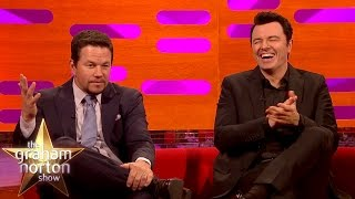 Download Mark Wahlberg and Seth MacFarlane Censorship Gone Horribly Wrong - The Graham Norton Show Video