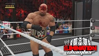 Download WWE 2K17- WWE World Heavy Weight Championship Elimination Chamber Match 2016 (PS4) Video