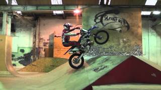 Download Graham Jarvis training at The Works skate park Leeds Video