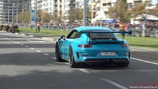 Download Supercars Accelerating - Chiron, 918 Spyder, Straight Piped Carrera GT, 720HP M4, AMG GT4,... Video