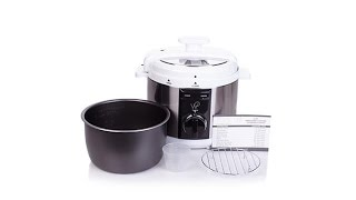Download Wolfgang Puck 5qt Automatic Rapid Pressure Cooker Video