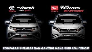 Download Rush 2018 VS Terios 2018 , Kembar Siam SUV Jaman Now ! Video