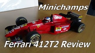 Download Minichamps Review, Ferrari 412T2 1/18 (1995) Video