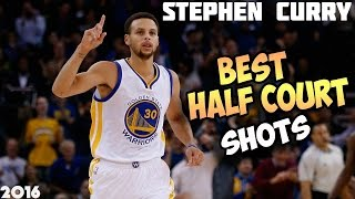 Download STEPHEN CURRY BEST HALF COURT SHOTS 2016/17 Video