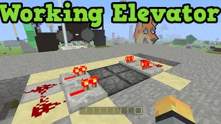 Download Minecraft Xbox 360 + PS3 - How To Make A Redstone Elevator (Pistons) Video