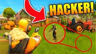 Download PEOPLE ARE HACKING UNDER THE MAP?!? (Fortnite Battle Royale) Video
