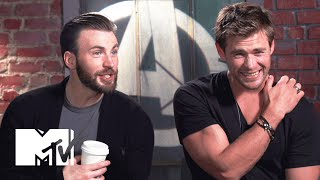 Download 'Avengers: Age Of Ultron' Cast Know Their Biceps | MTV News Video