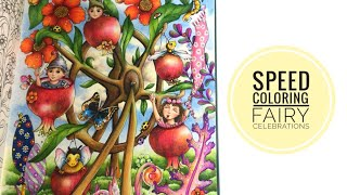 Download SPEED COLORING: FAIRY CELEBRATIONS Video