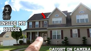 Download CREEPY GIRL GHOST IN MY HOUSE *CAUGHT ON CAMERA* Video