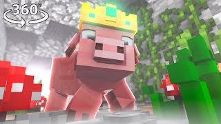 Download Pigs Are Taking Over Minecraft! - 360° Video Minecraft Video