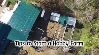 Download Tips for Starting a Hobby Farm Video
