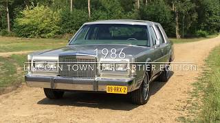 Download Lincoln Town Car Cartier Edition 1986 Video