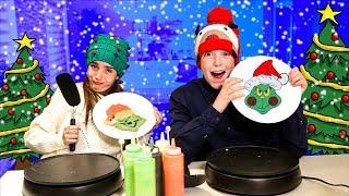 Download CHRISTMAS PANCAKE ART CHALLENGE!! Video