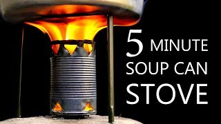 Download How To Make A Soup Can Stove Video