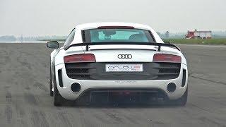 Download 1050HP Audi R8 GT V10 Twin Turbo - LOUD Revs & 0-302 km/h Acceleration! Video