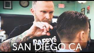 Download HairCut Harry's San Diego Haircut Experience at Pappy's Barber Shop Video