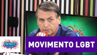 Download Jair Bolsonaro fala sobre o movimento LGBT | Pânico Video