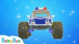 Download Monster Police Car Patrol Team | BabyBus Safety Tips | Super Rescue Team | Baby Song | BabyBus Video