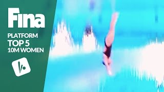 Download Top 5 - Women's 10m | FINA/NVC Diving World Series - Windsor 2017 Video