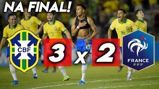 Download MOLECADA NA FINAL! Brasil 3x2 França - Melhores Momentos /Semi-Final Video