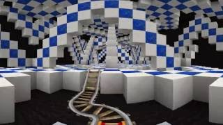 Download Minecraft 360 Video - Ride the Optical Illusion Roller Coaster Video
