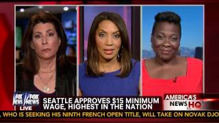 Download Fox News Discussion over $15 Min Wage increase in Seattle Video