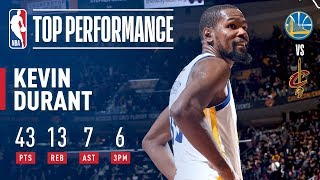 Download Kevin Durant's EPIC 43 Point Performance In Game 3 | 2018 NBA Finals Video