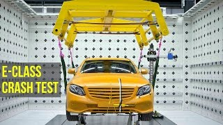 Download 2017 Mercedes E-Class Crash Test - Better than 5 Stars Video