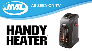 Download Handy Heater: Personal And Portable Digital Electric Heater from JML Video