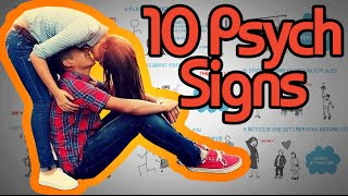 Download 10 Psychological Signs a Girl Likes you - How to tell if she's attracted! Video