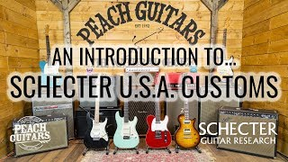 Download An introduction to Schecter Custom Shop USA guitars Video