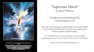 Download NotePerformer 2: Superman March by John Williams Video