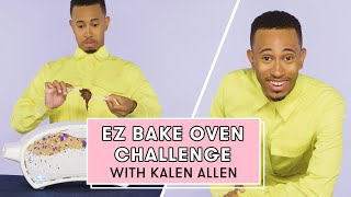 Download Kalen Allen Reacts to the Easy-Bake Oven | Easy-Bake Oven Challenge Video