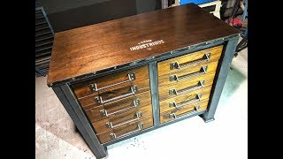 Download Make an Industrial Drawer Cabinet - Forme Industrious Video