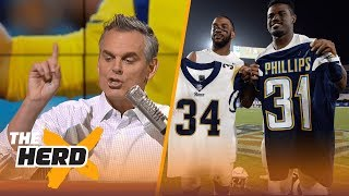 Download The Rams will work in Los Angeles, but the Chargers won't | THE HERD Video