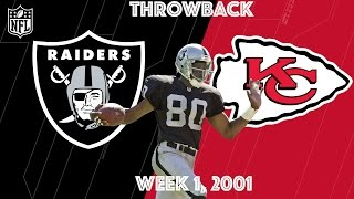 Download Raiders vs. Chiefs 2001 | Jerry Rice's First Game in Silver & Black | NFL Classic Highlights Video