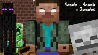 Download Monster School: If Herobrine was a Teacher - Minecraft Video