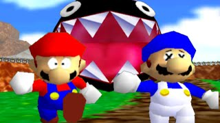 Download super mario 64 bloopers: Who let the chomp out? Video