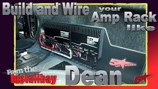 Download Do you want to build and wire your amp rack like Dean? Video