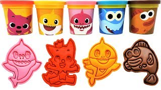 Download Baby Shark Play-Doh Molds & Surprise Toys Pinkfong Learn Colors for Kids Video