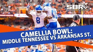 Download Camellia Bowl: Middle Tennessee vs Arkansas State | NCAAF Picks | With Joe Gavazzi Video