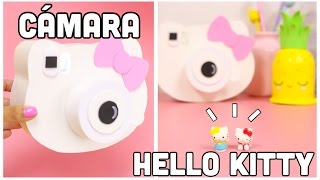 Download DIY Cámara HELLO KITTY-Regalo Fácil y bonito-manualidades KAWAII Video