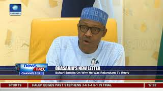 Download Why I Was Reluctant To Reply Obasanjo, Buhari Explains Video