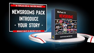 Download BixPack 16 - Intro video templates - Newsrooms Video