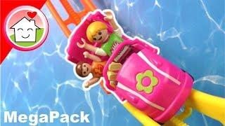 Download Playmobil Film deutsch - Familie Hauser im Freizeitpark - Mega Pack Video für Kinder Video