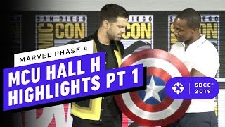 Download Marvel Studios: MCU Phase 4 Hall H Panel Highlights Pt. 1 - Comic Con 2019 Video