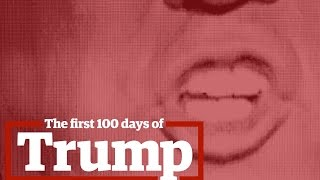 Download Donald Trump's first 100 days in office Video