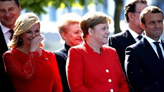 Download RUDE: NATO Leaders Laughing at President Donald Trump Calls on NATO Allies to Pay Their 'Fair Share' Video